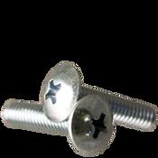 """#6-32x1/2"""" F/T Machine Screw Truss Head Phillips Zinc Cr+3 (15,000/Bulk Pkg.)"""