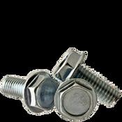 "#10-24x1"" F/T Machine Screw Indented Hex Head Washer Coarse Zinc Cr+3 (4,500/Bulk Pkg.)"
