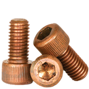 "1/2""-13x3/4"" Fully Threaded Socket Head Cap Screws Coarse Silicon Bronze (50/Pkg.)"