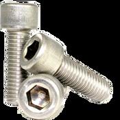 """#0-80x3/16"""" Fully Threaded Socket Head Cap Screws Fine 18-8 Stainless (100/Pkg.)"""