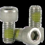 "1/4""-20x1-1/2"" (PT) Socket Head Cap Screws Coarse 18-8 Stainless w/ Nylon-Patch (100/Pkg.)"
