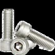 M2.5-0.45x12 MM Fully Threaded Socket Head Cap Screws Coarse 18-8 Stainless (100/Pkg.)