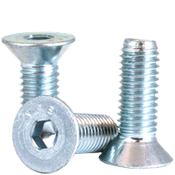 M10-1.50x45 MM (FT) Flat Socket Cap 12.9 Coarse Alloy Zinc (100/Pkg.)