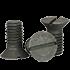 "5/8""-11x2"" Slotted Flat Countersunk Head Cap Screws Grade 2 Coarse Plain (50/Pkg.)"