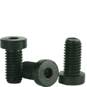 "#10-24x3/8"" Low Head Socket Caps Coarse Alloy Thermal Black Oxide (100/Pkg.)"