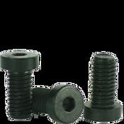 "1/4""-20x1/2"" Low Head Socket Caps Coarse Alloy Thermal Black Oxide (100/Pkg.)"
