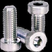 M8-1.25x25 MM Fully Threaded Low Head Socket Cap Coarse 18-8 Stainless (100/Pkg.)