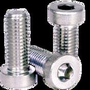 M8-1.25x30 MM Fully Threaded Low Head Socket Cap Coarse 18-8 Stainless (100/Pkg.)