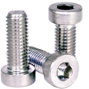 M8-1.25x45 MM Partially Threaded Low Head Socket Cap Coarse 18-8 Stainless (100/Pkg.)
