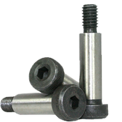 """1/4""""-10-24x1-1/2"""" Socket Shoulder Screws Coarse Alloy Thermal Black Oxide (25/Pkg.)"""