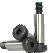 """3/8""""-5/16-18x1/2"""" Socket Shoulder Screws Coarse Alloy Thermal Black Oxide (25/Pkg.)"""
