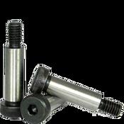 """1-1/4""""-7/8-9x3-1/2"""" Non-Standard Socket Shoulder Screws Alloy Thermal Black Oxide (5/Pkg.)"""