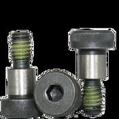 "3/8""-5/16-18x3/4"" Socket Shoulder Screws Coarse Alloy w/ Nylon-Patch Thermal Black Oxide (25/Pkg.)"