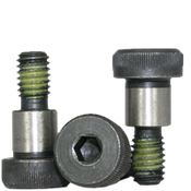 "1/2""-3/8-16x4-1/2"" Socket Shoulder Screws Coarse Alloy w/ Nylon-Patch Thermal Black Oxide (25/Pkg.)"