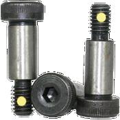 "5/16""-1/4-20x1"" Socket Shoulder Screws Coarse Alloy w/ Nylon-Pellet Thermal Black Oxide (25/Pkg.)"