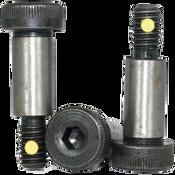 "1/2""-3/8-16x2-1/4"" Socket Shoulder Screws Coarse Alloy w/ Nylon-Pellet Thermal Black Oxide (25/Pkg.)"