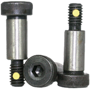 "1/2""-3/8-16x4"" Socket Shoulder Screws Coarse Alloy w/ Nylon-Pellet Thermal Black Oxide (25/Pkg.)"