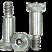 """1/8""""-4-40x1/2"""" Socket Shoulder Screws Coarse 18-8 Stainless (25/Pkg.)"""