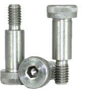 "1/8""-4-40x1-1/4"" Socket Shoulder Screws Coarse 18-8 Stainless (25/Pkg.)"