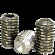 "#8-32x5/16"" Socket Set Screws Cup Point Coarse Ni-Cu Alloy (100/Pkg.)"