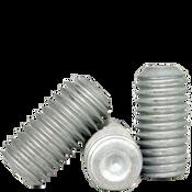"#8-32x1/2"" Socket Set Screws Cup Point Coarse Alloy Mechanical Zinc (100/Pkg.)"