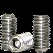 "3/4""-10x1-1/2"" Socket Set Screws Cup Point Coarse 18-8 Stainless (25/Pkg.)"