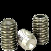 M5-0.80x12 MM Socket Set Screws Cup Point Coarse 18-8 Stainless (100/Pkg.)
