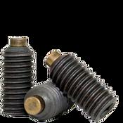 "5/16""-24x1/2"" Brass-Tip Socket Set Screws Cup Point Fine Alloy (100/Pkg.)"