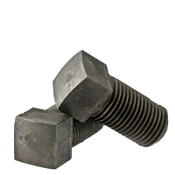 "3/8""-24x1 1/2"" (FT) Square Head Set Screw, Cup Point, Fine, Case Hardened (100/Pkg.)"