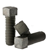 "3/8""-16x1"" (FT) Square Head Set Screw, Cone Point, Coarse, Case Hardened (100/Pkg.)"