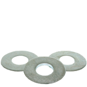 "1"" USS Flat Washers Med. Carbon Thru-Hardened Zinc Cr+3 (USA) (50/Pkg.)"