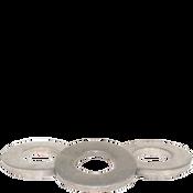 "1/4"" SAE Flat Washers Med. Carbon Thru-Hardened Zinc Cr+3 (USA) (100/Pkg.)"