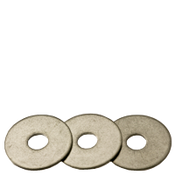 "1/4""X1""X0.05 Fender Washers 304 Stainless Steel (100/Pkg.)"