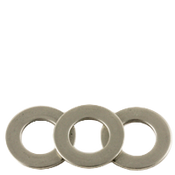 M16 Flat Washers, Narrow, 18-8 A2 Stainless Steel (50/Pkg.)