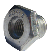 "Arbor Adapters for Wire Wheels and Cups - Converts 5/8""-11 to M10 x 1.25, Mercer Abrasives 190010 (50/Pkg.)"