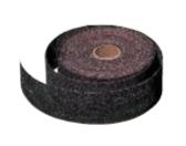 "Plumbers' Rolls - Waterproof Resin Bonded Aluminum Oxide- 1-1/2"" x 25 YD, Grit: 120, Mercer Abrasives 383125 (Qty. 1)"