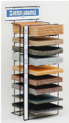 Sandpaper Sheet Display Stand, Mercer Abrasives 000DIS (Qty. 1)