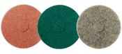 """High Speed Floor Maintenance Pads - 16"""" x 1"""" Aqua, Mercer Abrasives 45016A (5/Pkg.)"""