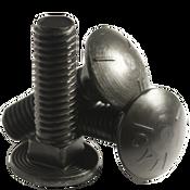 "7/16""-14x2-3/4"" Fully Threaded Carriage Bolts Grade 5 Coarse Zinc Cr+3 (350/Bulk Pkg.)"