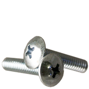 "#6-32x1"" F/T Machine Screw Truss Head Phillips Zinc Cr+3 (10,000/Bulk Pkg.)"