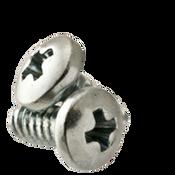 """#10-24x3/8"""" F/T Phillips Pan Head Thread Rolling Screws Zinc Cr+3/Wax (8,000/Bulk Pkg.)"""