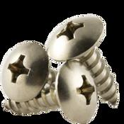 "#6x5/8"" F/T Self-Tapping Screws Phillips Truss Head Type A 18-8 A2 Stainless Steel (5,000/Bulk Pkg.)"