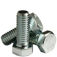 A307 Grade A Square Head Bolt Zinc Cr+3 PT 1 inch-8x5-1//2 40//Bulk Pkg.
