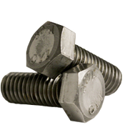 "1/4""-20x6"" Partially Threaded Hex Bolts A307 Grade A Coarse Low Carbon  Plain (600/Bulk Pkg.)"