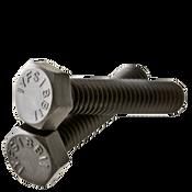 "5/8""-11x2-1/4"" Fully Threaded Hex Tap Bolt A307 Grade A Coarse Low Carbon Plain (25/Pkg.)"