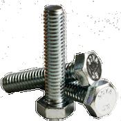 """3/4""""-10x2-1/2"""" Fully Threaded Hex Tap Bolt A307 Grade A Coarse Low Carbon Zinc Cr+3 (20/Pkg.)"""
