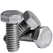 "1""-8x2-3/4"" (FT) Grade 2 Hex Cap Screw Zinc CR+3 (40/Bulk Pkg.)"