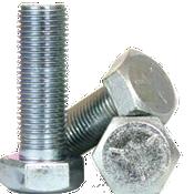"""9/16""""-12x5-1/2"""" (PT) Hex Cap Screws Grade 5 Coarse Med. Carbon Zinc CR+3 (100/Bulk Pkg.)"""
