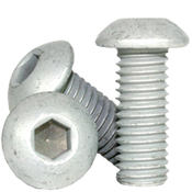 "1/4""-28x5/8"" (FT) Button Socket Cap Coarse Alloy Mechanical Zinc (500/Bulk Pkg.)"