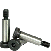 M6-M5x50 MM Socket Shoulder Screws 12.9 Coarse Alloy ISO 7379 Thermal Black Oxide (100/Bulk Pkg.)
